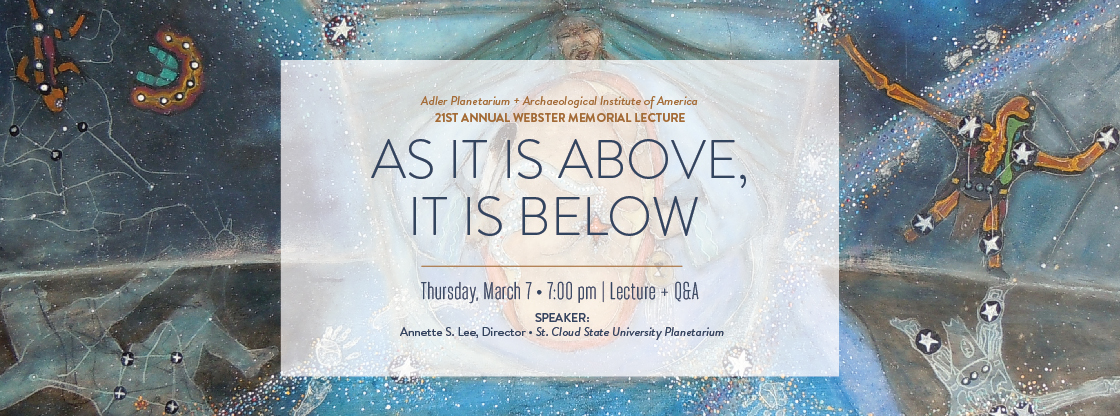 21st Annual Webster Memorial Lecture | March 7 | FREE