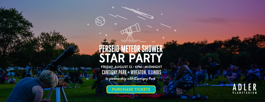 Join the Adler Planetarium at Cantigny Park for the second Annual Star Party!
