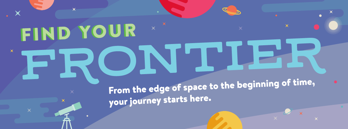 Find your frontier at the Adler!
