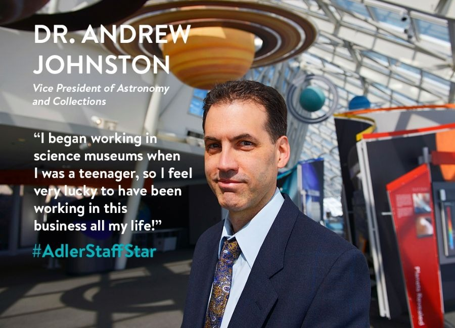 Dr. Andrew Johnston | July Adler Staff Star