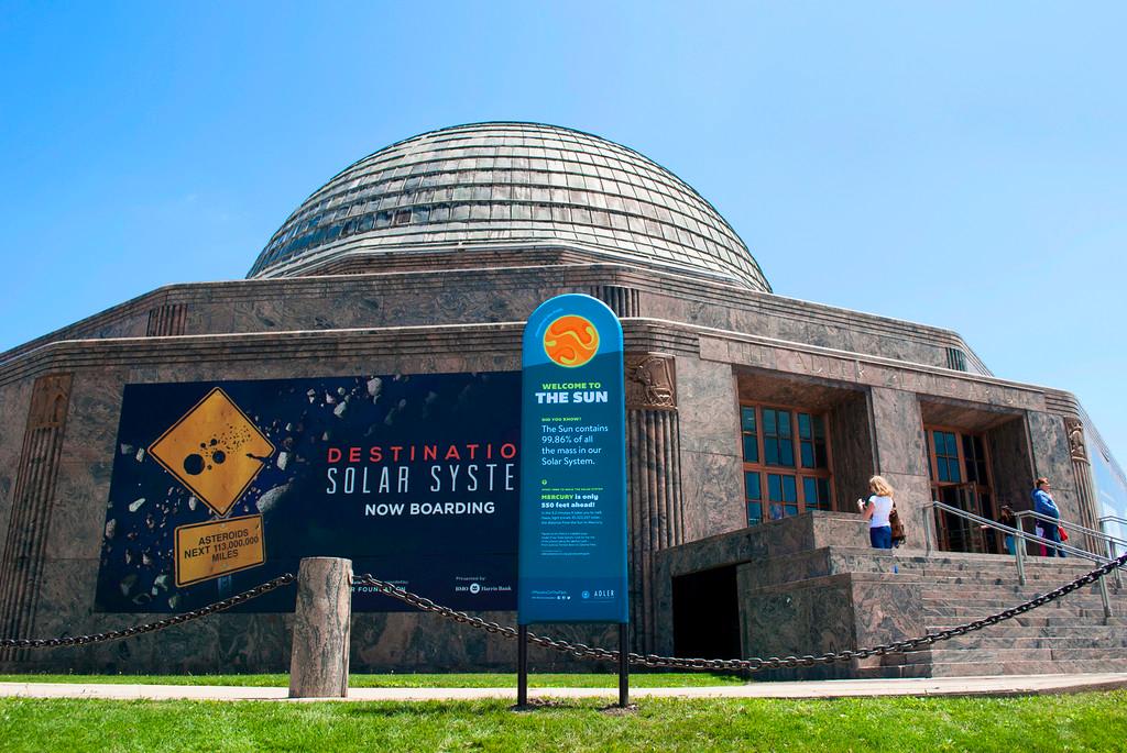 tour operators adler planetarium