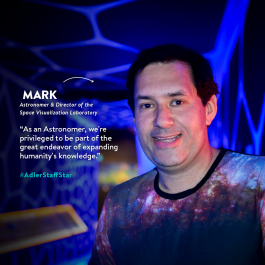 This week's Adler Staff Star is Mark SubbaRao!