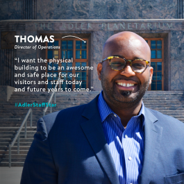 Director of Operations Thomas James is this week's Adler Staff Star!