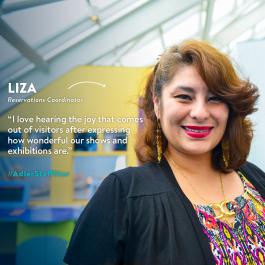 This week's Adler Staff Star is Reservations Coordinator Liza Trevino!