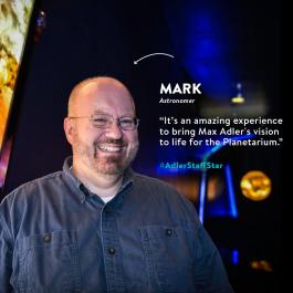 This week's Adler Staff Star is Mark Hammergren!