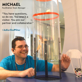 Facilitation Team Manager Michael Simms is this week's Adler Staff Star!