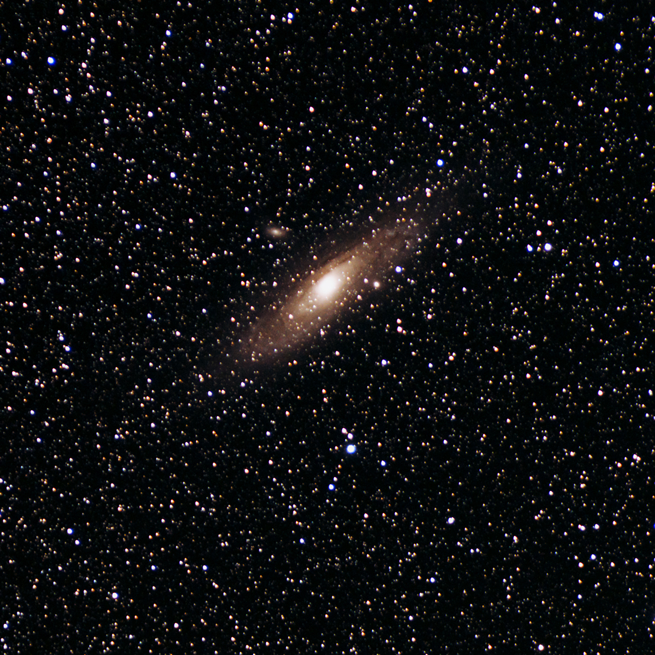 The Andromeda Galaxy taken by astrophotographer Nick Lake