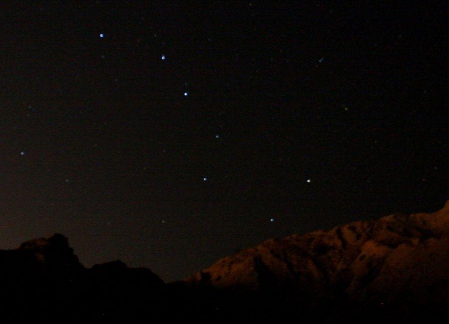 The Big Dipper in the Night Sky
