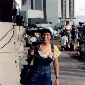 Candy Torres 1983 NASA-Kennedy Space Center Launch
