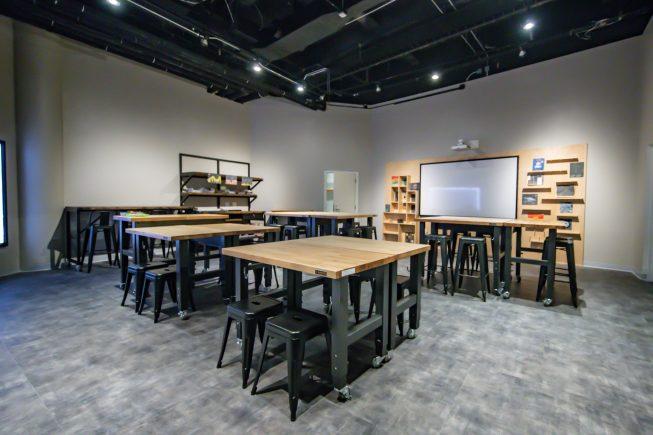 The Adler's Community Design Studio.