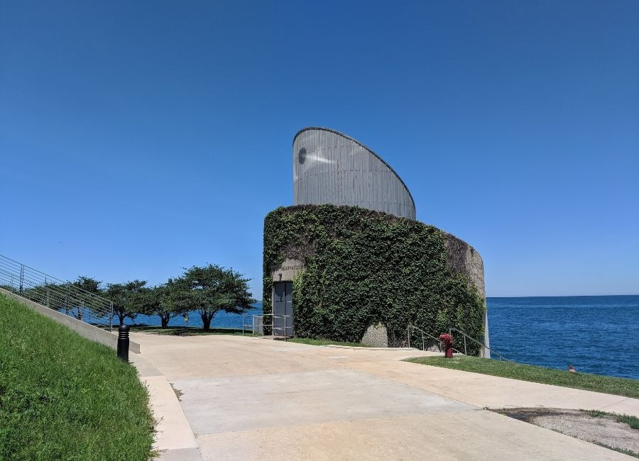 Doane Observatory at Adler Planetarium
