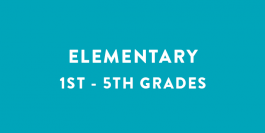 Summer Camps | Elementary | Grades 1st - 5th