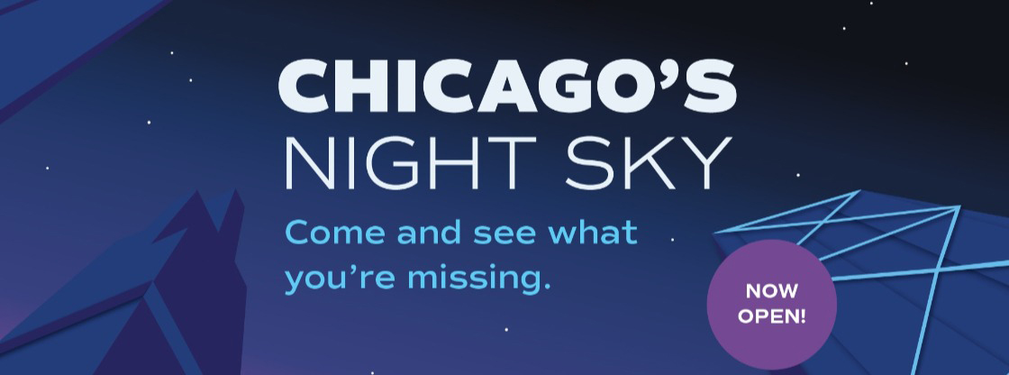 Chicago's Night Sky | Come and see what you're missing. | Now Open!