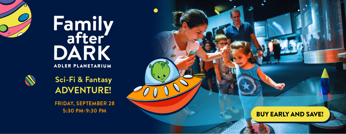 Family After Dark: Sci-Fi & Fantasy Adventure | Buy early and save with special early bird pricing!