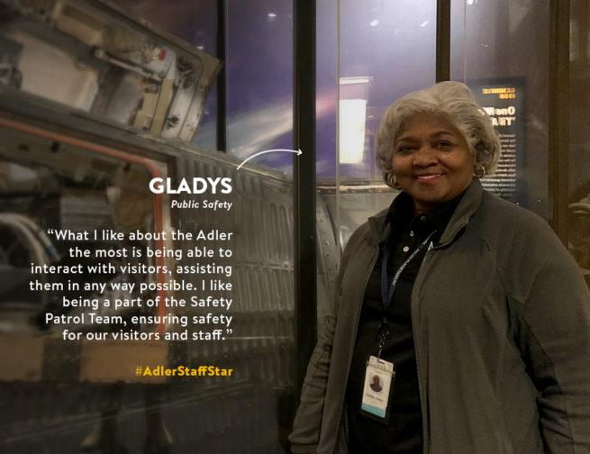 Meet Gladys!