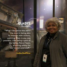 Gladys Crane - Adler Staff Star
