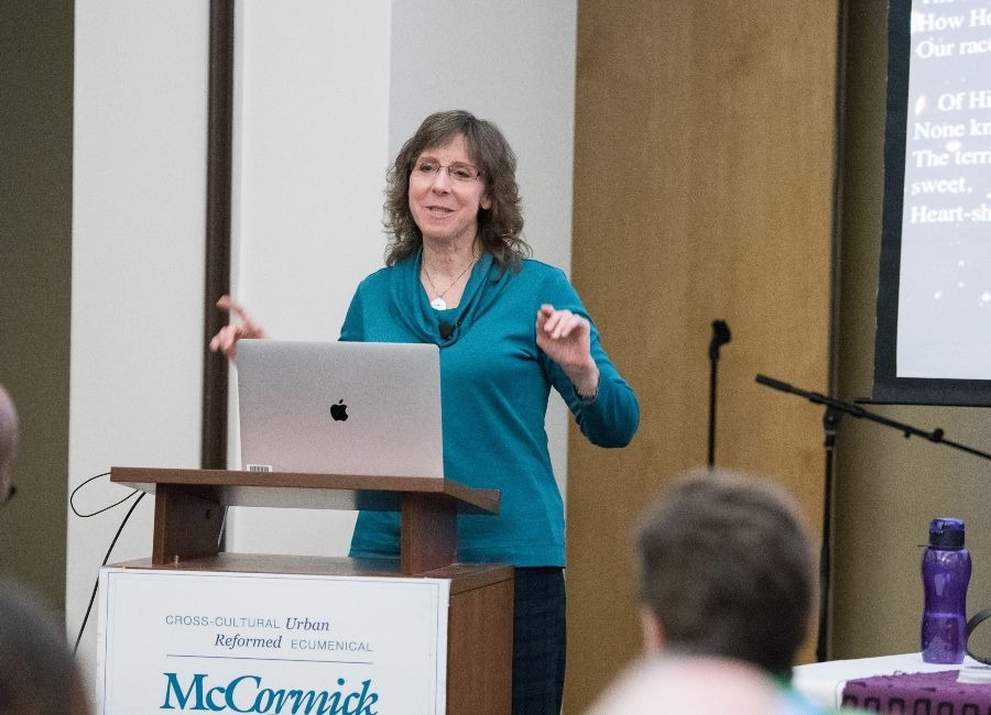 Grace Wolf-Chase MTS Science Lecture | Photo Credit: Tricia Koning Photography