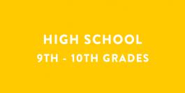 Summer Camps | High School | Grades 9th - 10th
