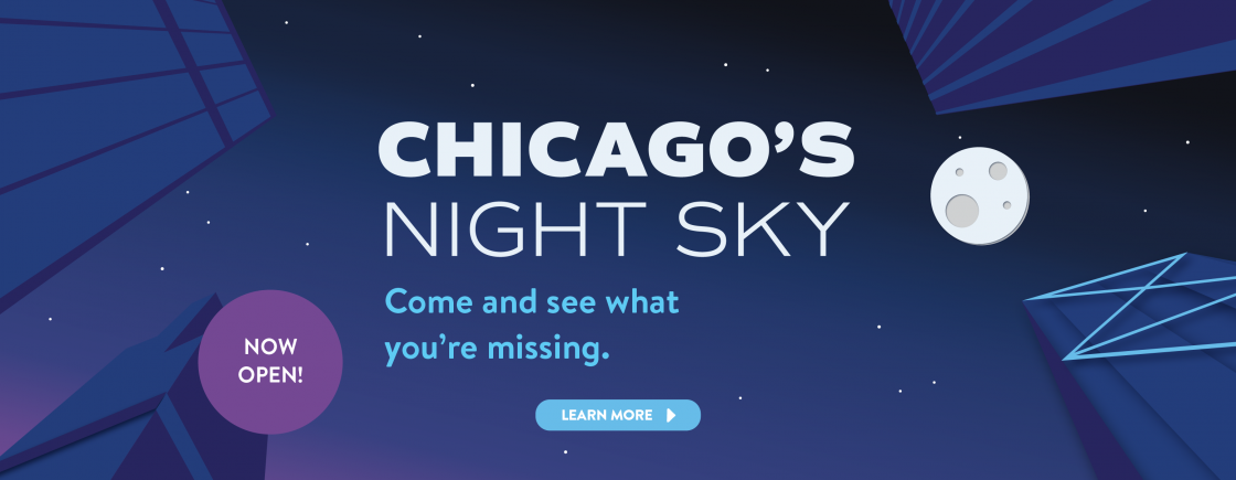 Chicago's Night Sky | Now Open!