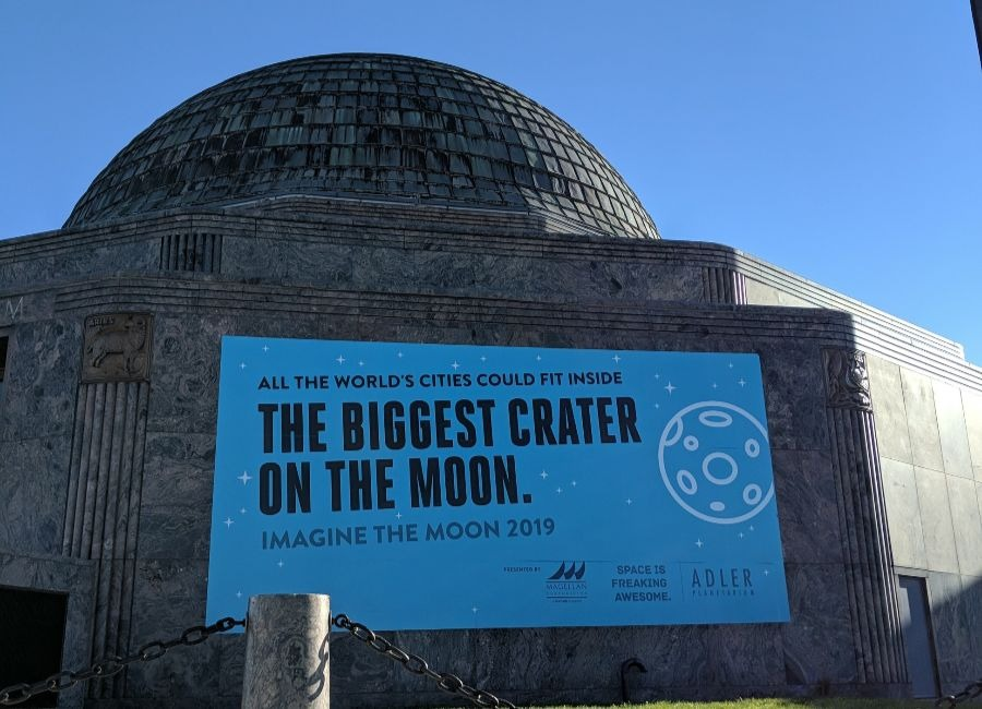 Imagine the Moon at the Adler Planetarium this Winter!