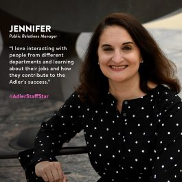 Jennifer Howell, Adler Staff Star