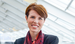 Kate Brueggemann is the Adler Planetarium's VP of Development responsible for fundraising and philanthropy at the museum.