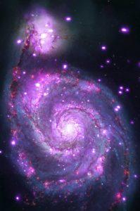 M51 Spiral Galaxy