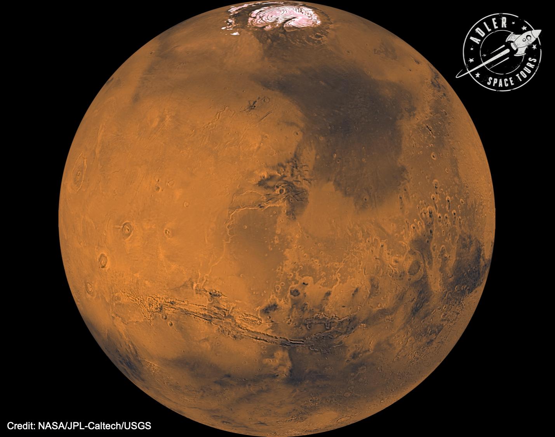 Mars - Photo credit: NASA