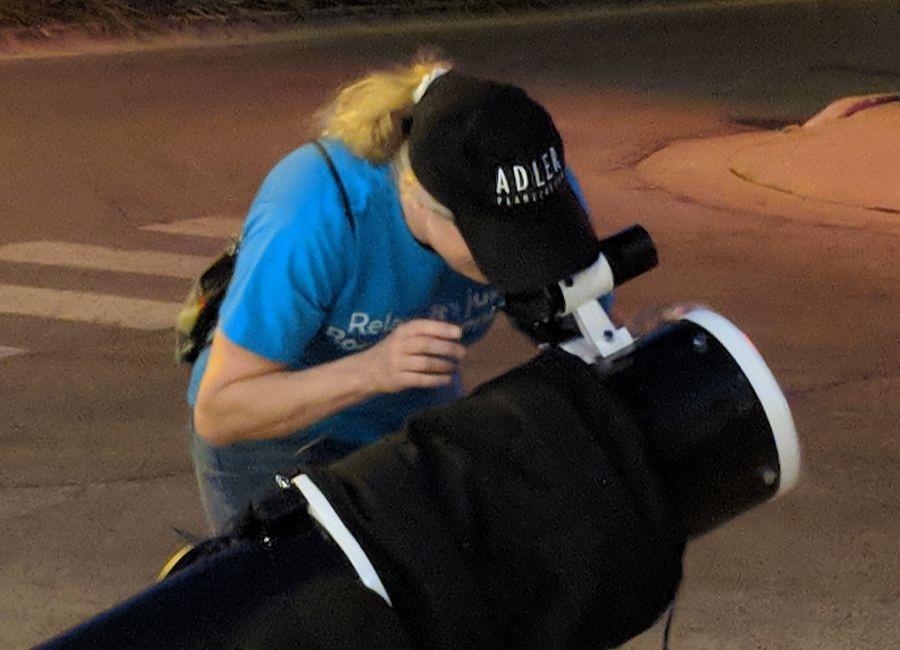 Michelle Nichols - Telescope