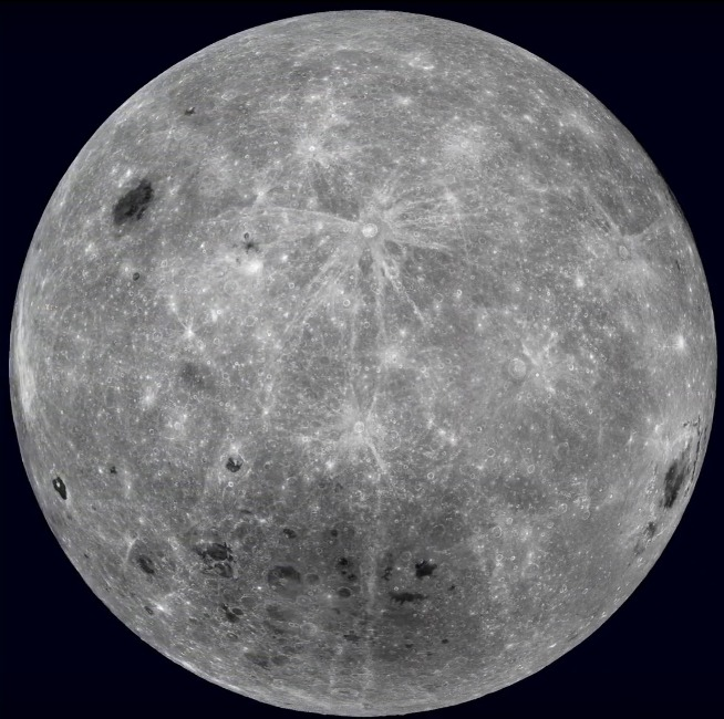The far side of Earth's Moon as seen based on data from cameras aboard NASA's robotic Lunar Reconnaissance Orbiter spacecraft. Image Credit: NASA/Goddard Space Flight Center/Arizona State University