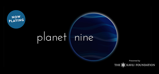 Planet Nine, the Adler's new sky show, is now playing!