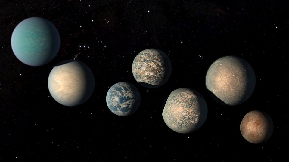 Artist's Illustration of Trappist-1