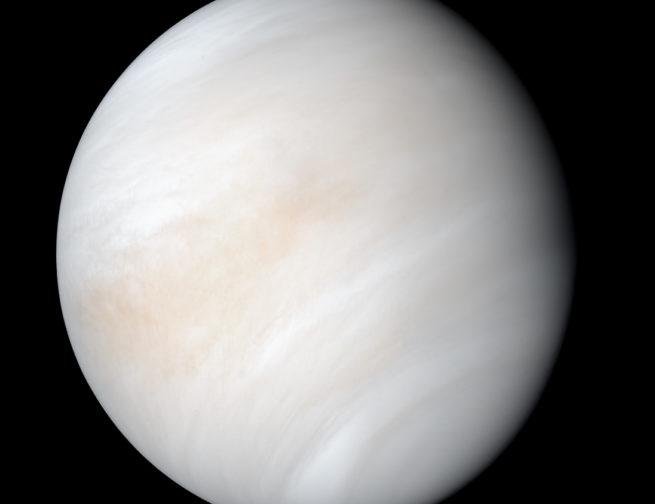 Image taken of Venus by NASA's Mariner 10 spacecraft in 1974 Image Credit: NASA/JPL-Caltech