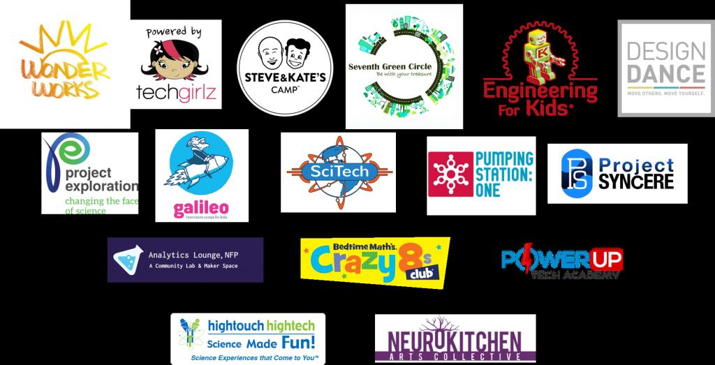 Pop-up Program Partners 2017