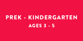 Summer Camps | PreK - Kindergarten | Ages 3 - 5
