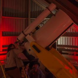 Night Observing at the Doane Observatory