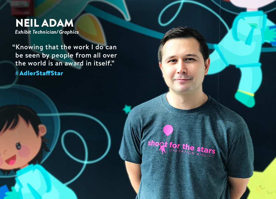 Meet Adler Staff Star: Neil Adam!