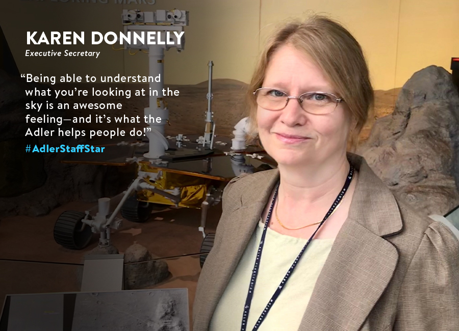 Karen Donnelly | Executive Secretary | September Adler Staff Star