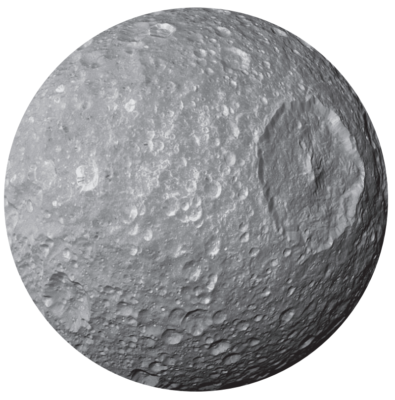 Mimas, Saturn's Moon
