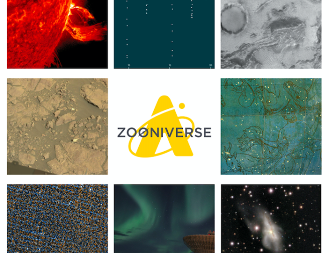 Header Image: Adler Space Tours Zooniverse Citizen Science Projects