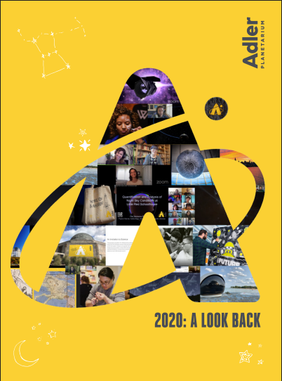 2020 Look Back Report Cover