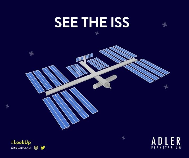 How to spot the International Space Station - share your pics with us on social media!