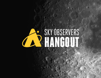 Sky Observers Hangout - Close up of the Moon's surface