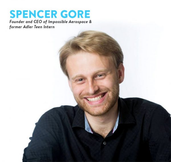 Meet Spencer Gore, Founder and CEO of Impossible Airspace and former Adler Teen Intern