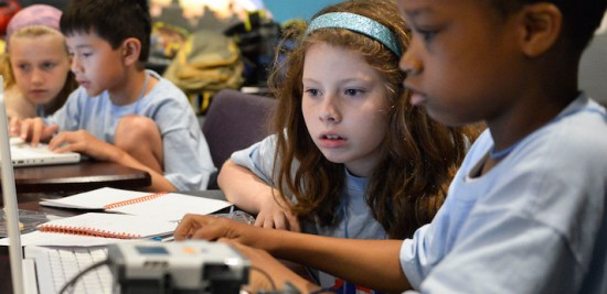 Young scientists in the making discover new worlds, engage in eye-opening experiments and play next to Lake Michigan during an Adler Planetarium summer camp!