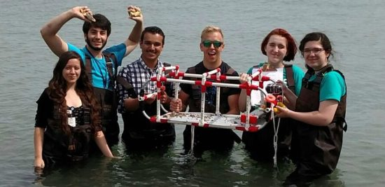 The Aquarius Project - Teens Test ROV Sled