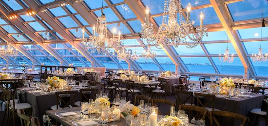 Host your next special event in the Adler Planetarium's Solarium!