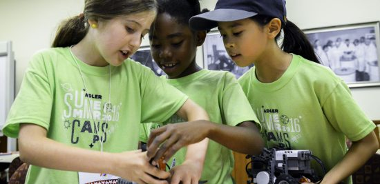 Summer Camp Technology Camp Robotics! Come do science at the Adler with a unique summer camp experience.