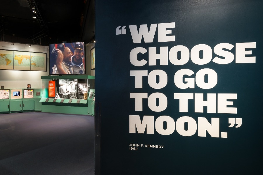 """""""We Choose to go to the Moon"""" - John F. Kennedy"""