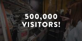 Adler Planetarium Reaches 500,000 Visitors Press Materials